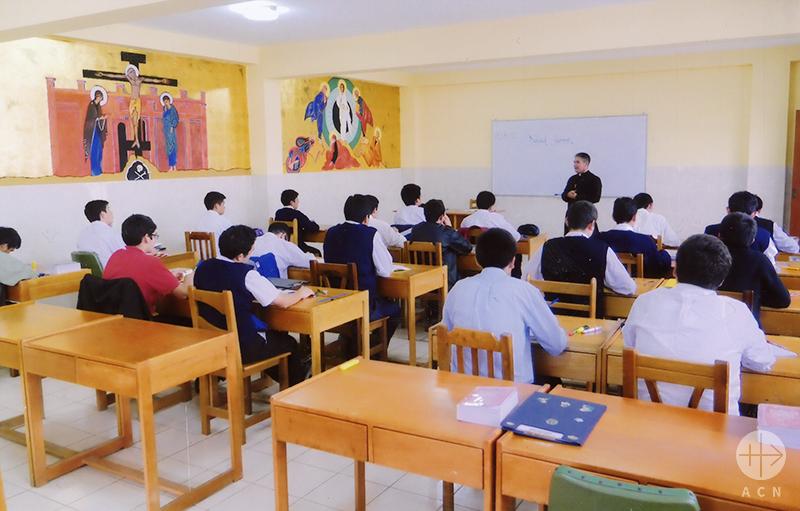 우아초교구 카르멜의 성모 신학교 (출처=ACN 자료사진)