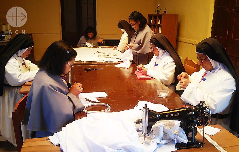 삼위일체 관상수녀회, 아야바리 면속구(출처=ACN 자료사진)